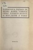 Henri-Marie O'Brien - Harmonica.