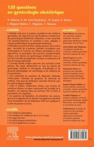 120 questions en gynécologie-obstétrique 4e édition