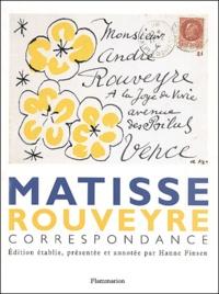 Henri Matisse et André Rouveyre - .