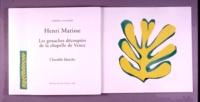 Henri Matisse - Les gouaches découpées de la Chapelle de Vence  : Chasuble blanche.