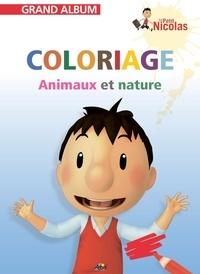 Henri Medori - Coloriage Animaux et nature - Le petit Nicolas.