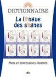 Henri Medori - Dictionnaire La langue des signes - Mots et expressions illustrés.