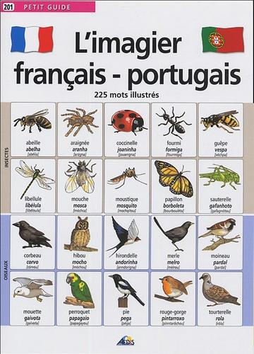 Henri Medori et  Jala - L'imagier français-portugais - 225 mots illustrés.