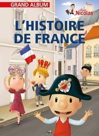 Henri Medori et Pierre Quentin - Le Petit Nicolas  : L'histoire de France.