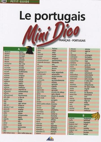 Henri Medori - Le portugais - Mini Dico français-portugais.