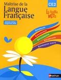 Henri Mitterand - Maîtrise de la langue française CE2 - Programme 2008.