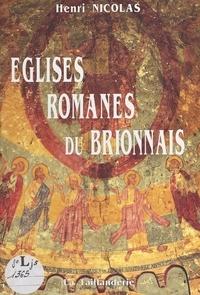 Henri Nicolas - Eglises romanes du Brionnais.