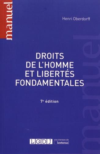 Henri Oberdorff - Droits de l'homme et libertés fondamentales.