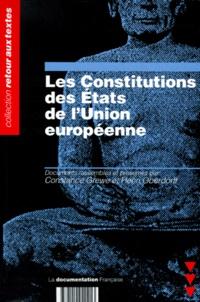 Henri Oberdorff et  Collectif - Les Constitutions des États de l'Union européenne.