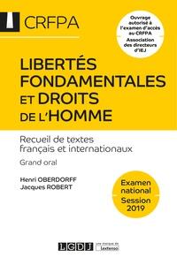 Libertés fondamentales et droits de lhomme - Recueil de textes français et internationaux, grand oral CRFPA.pdf