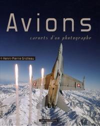 Henri-Pierre Grolleau - Avions - Carnets d'un photographe.