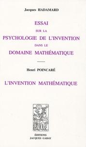 Essai sur la psychologie de linvention dans le domaine mathématique - Linvention mathématique.pdf