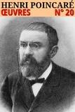 Henri Poincaré - Henri Poincaré - Oeuvres - N° 20.