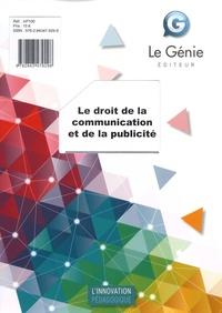 Histoiresdenlire.be Le droit de la communication et de la publicité Image