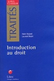 Henri Roland et Laurent Boyer - Introduction au droit.