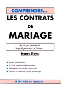 LES CONTRATS DE MARIAGE. Avantager son conjoint, se protéger en cas de divorce.pdf