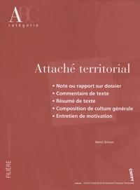 Henri Simon - Attaché térritorial - Catégorie A.