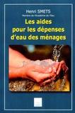 Henri Smets - Les aides pour les dépenses d'eau des ménages.