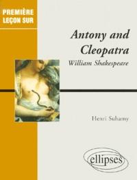 Henri Suhamy - Antony and Cleopatra, William Shakespeare.