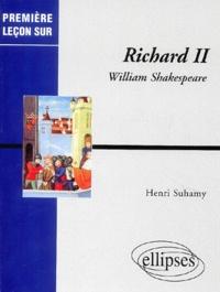 Henri Suhamy - Richard II, William Shakespeare.