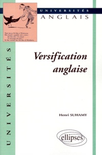 Henri Suhamy - Versification anglaise.