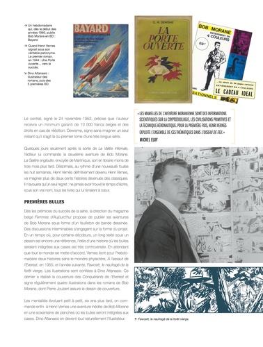 Bob Morane l'Intégrale Tome 1 Bob Morane et l'oiseau de feu ; Bob Morane et le secret de l'Antartique ; Bob Morane contre la terreur verte