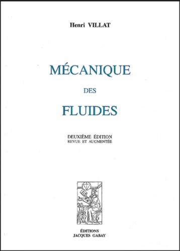 Henri Villat - Mécanique des fluides.