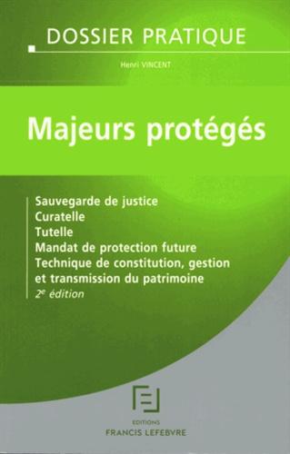 Majeurs Proteges Sauvegarde De Justice Henri Vincent
