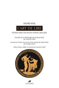 Lart de lire - Etudes sur lancienne poésie grecque.pdf