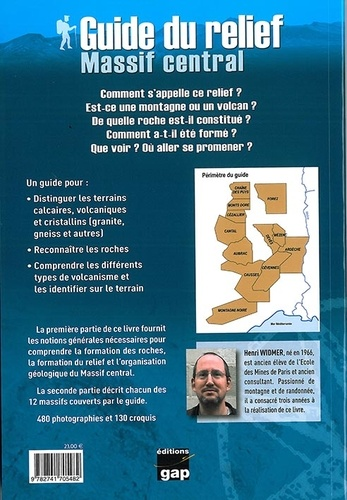 Guide du relief. Massif central