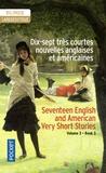 Henri Yvinec - Dix-sept très courtes nouvelles anglaises et américaines - Volume 3.