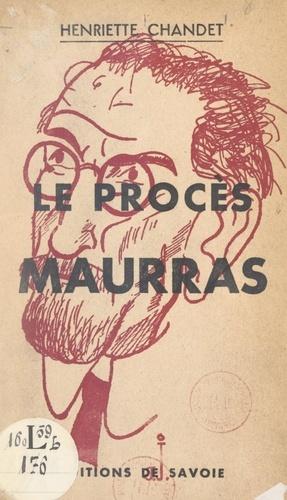 Le procès Maurras