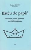 Henriette Dibon - Batèu de papié.