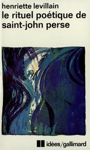 Henriette Levillain - Rituel poétique de St-John.