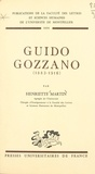 Henriette Martin et  Faculté des Lettres et Science - Guido Gozzano, 1883-1916.