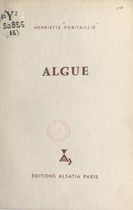Henriette Robitaillie et Michel Gourlier - Algue.