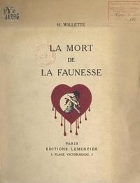 Henriette Willette - La mort de la faunesse.