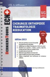 Henrique Goncalves - Chirurgie orthopédie traumatologie rééducation.