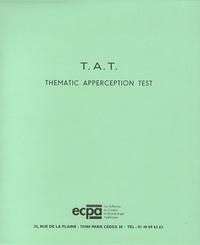 Henry A. Murray - TAT et TAT SCOL, Thematic Apperception Test - Les 31 planches et le manuel.