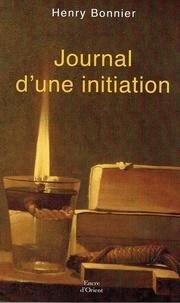 Henry Bonnier - Journal d'une initiation.