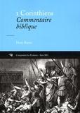 Henry Bryant - 1 Corinthiens - Commentaire biblique.