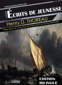 Henry David Thoreau - Écrits de jeunesse.