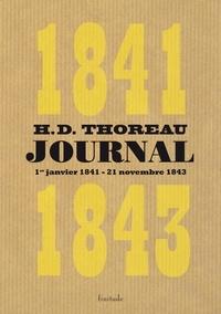 Henry-David Thoreau - Journal - Volume 2 (janvier 1841 - novembre 1843).