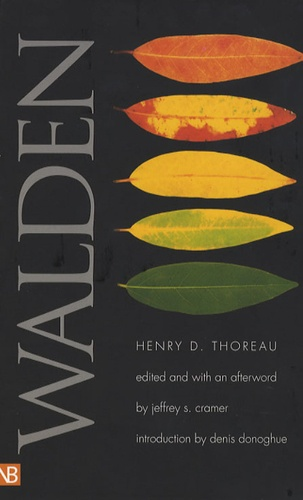 Henry-David Thoreau et Jeffrey S. Cramer - Walden.
