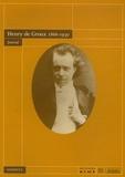 Henry De Groux et Rodolphe Rapetti - Henry de Groux 1866-1930 - Journal.