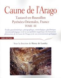 Henry de Lumley - Caune de l'Arago - Tautavel-en-Roussillon, Pyrénées-Orientales, France Tome 3.
