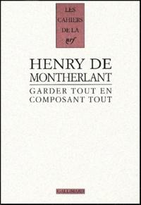 Henry de Montherlant - .