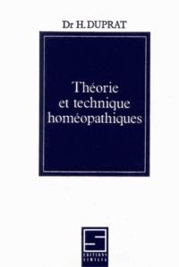 Théorie et technique homéopathiques.pdf