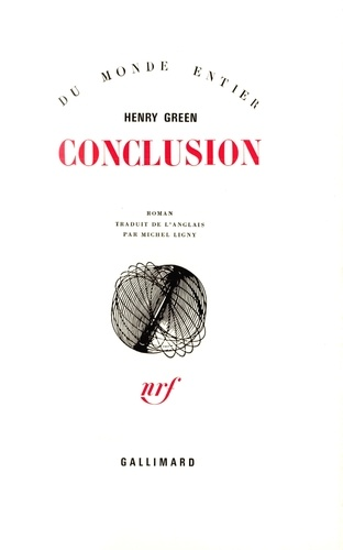 Henry Green - Conclusion.