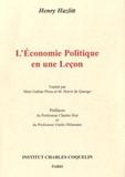 Henry Hazlitt - L'économie politique en une leçon.